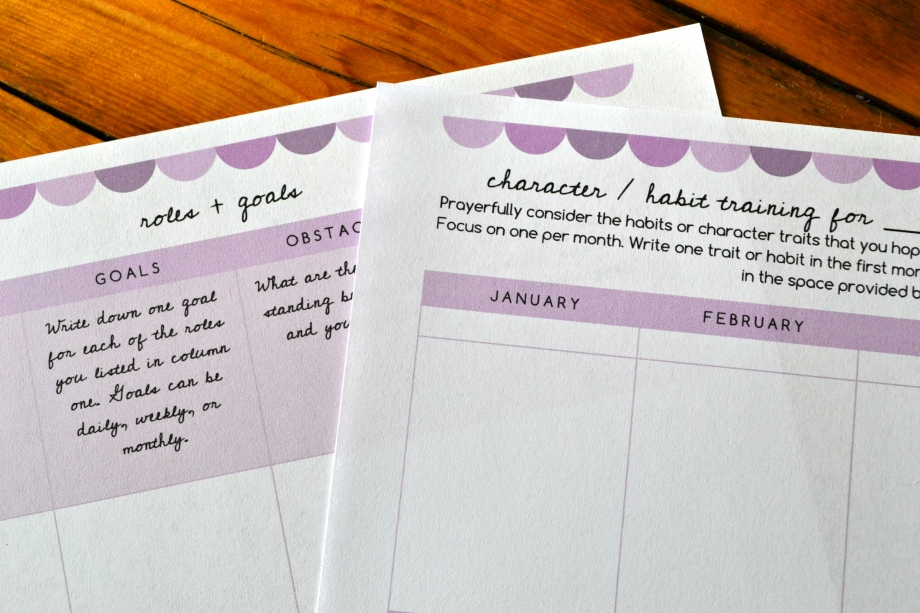 Free Printable Goal Setting Sheet 890