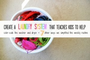 teach kids to wash clothes 2